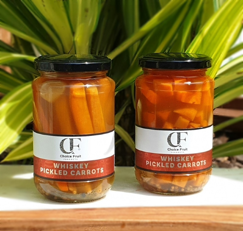 Whiskey Pickled Carrots