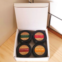 Gift Box - Chutney Set of 4