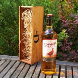 Gift Box - The Famous Grouse 750ml