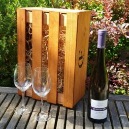 Gift Box - Rippon Mature Vine Riesling + Glasses