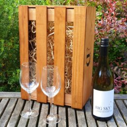 Gift Box - Big Sky Grüner Veltliner +/- Glasses