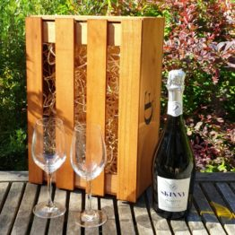 Gift Box - Skinny Prosecco - Thomson & Scott +/- Glasses