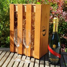 Gift Box - Mumm Grand Cordon Champagne Brut +/- Glasses