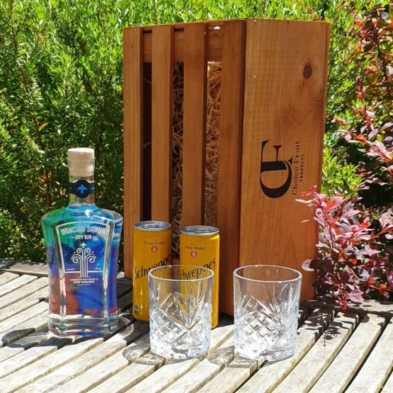 Dancing Sands Gin + Glasses