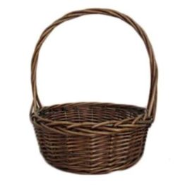 Wicker Gift Basket