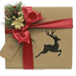 Bassano Gift Box Reindeer/Tree