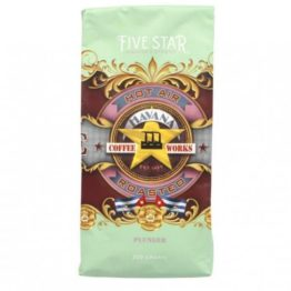 Havana 5 Star Coffee Plunger 100g/200g